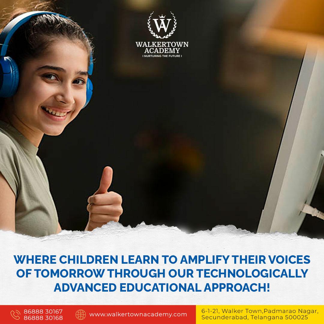 CBSE Curriculum School in Secunderabad, Padmarao Nagar Walkertown Academy