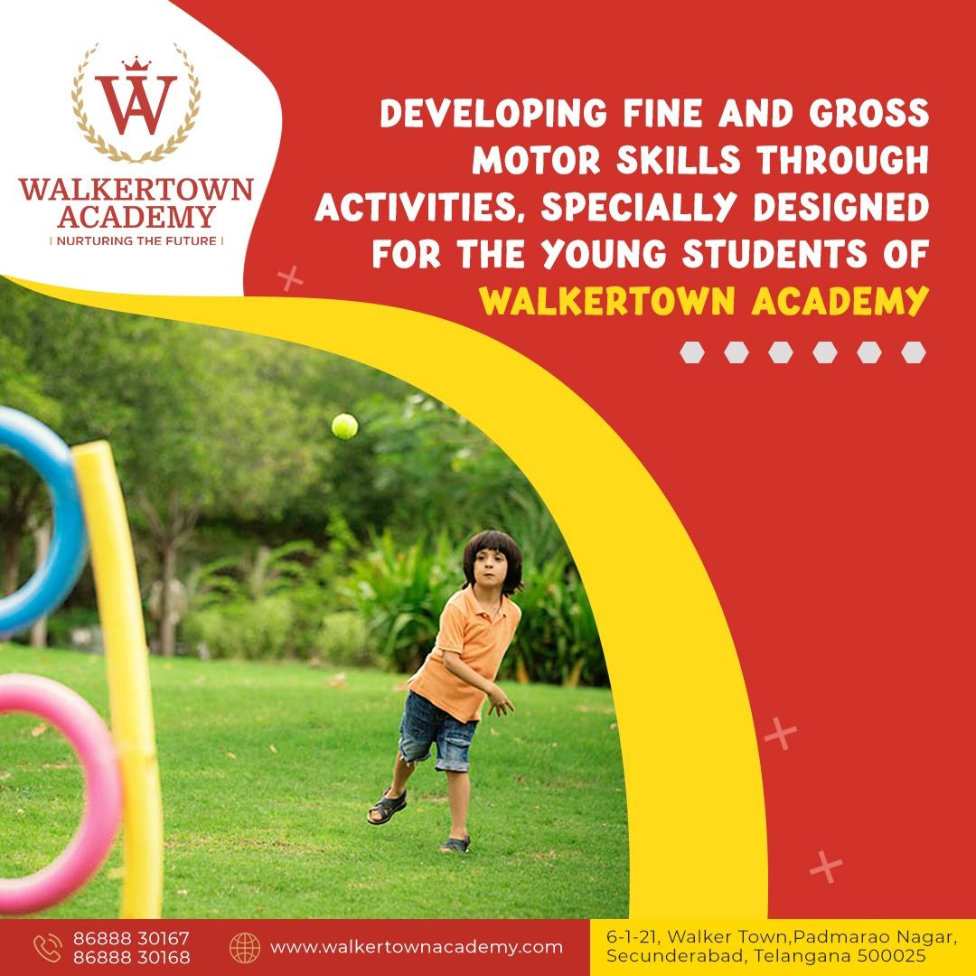 CBSE Curriculum School in Secunderabad, Padmarao Nagar, Walkertown Academy