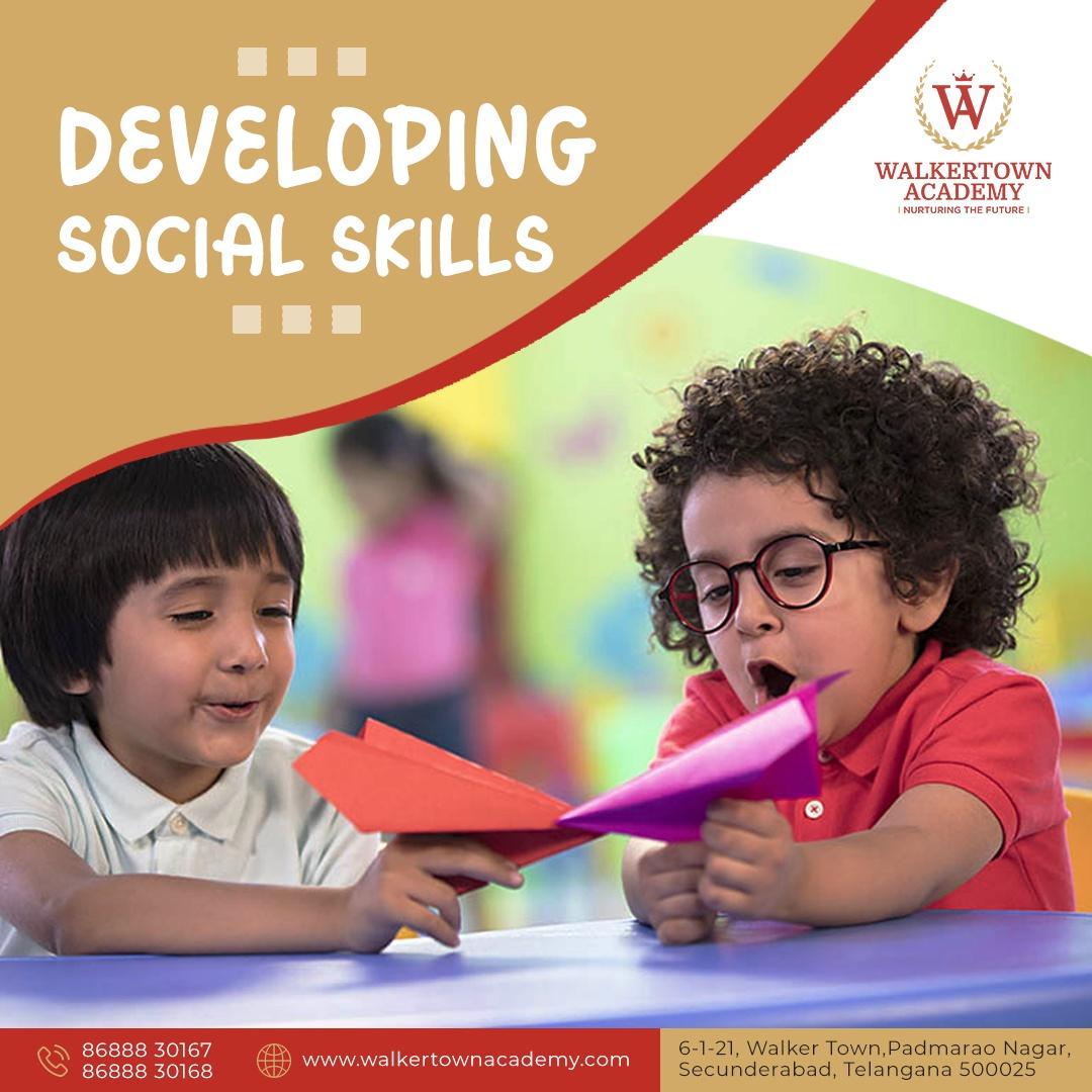 CBSE Curriculum School in Secunderabad, Padmarao Nagar - Walkertown Academy