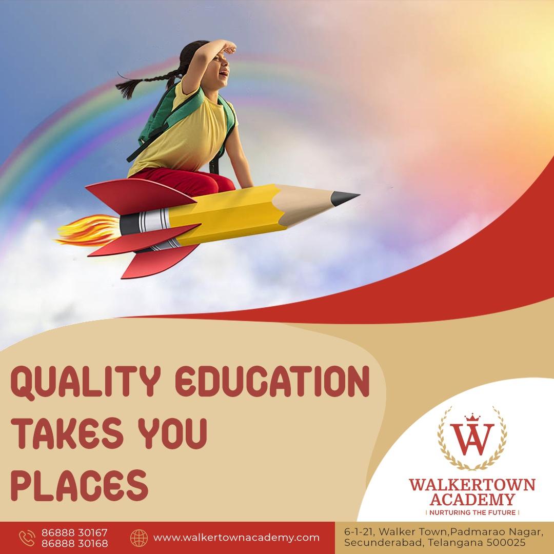 Play School in Secunderabad -Walkertown Academy