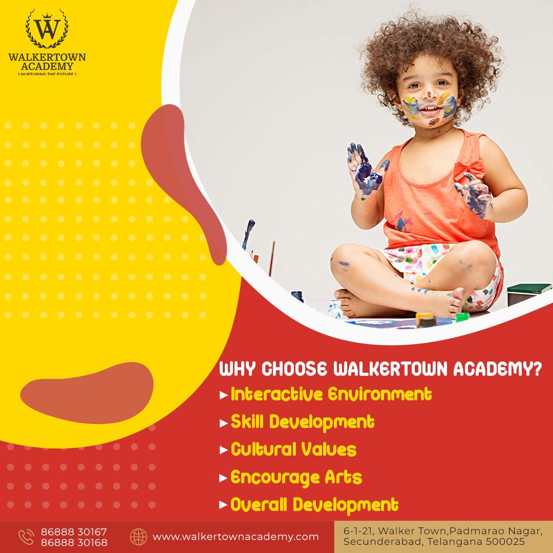 Play School in Secunderabad- Walkertown Academy