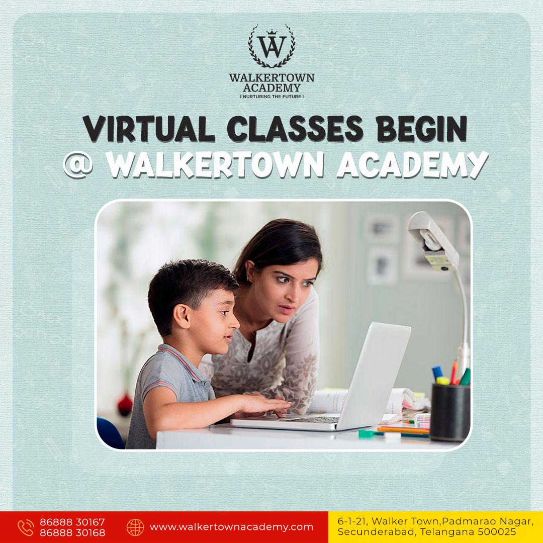 Primary School In Padmarao Nagar - Walkertown Academy