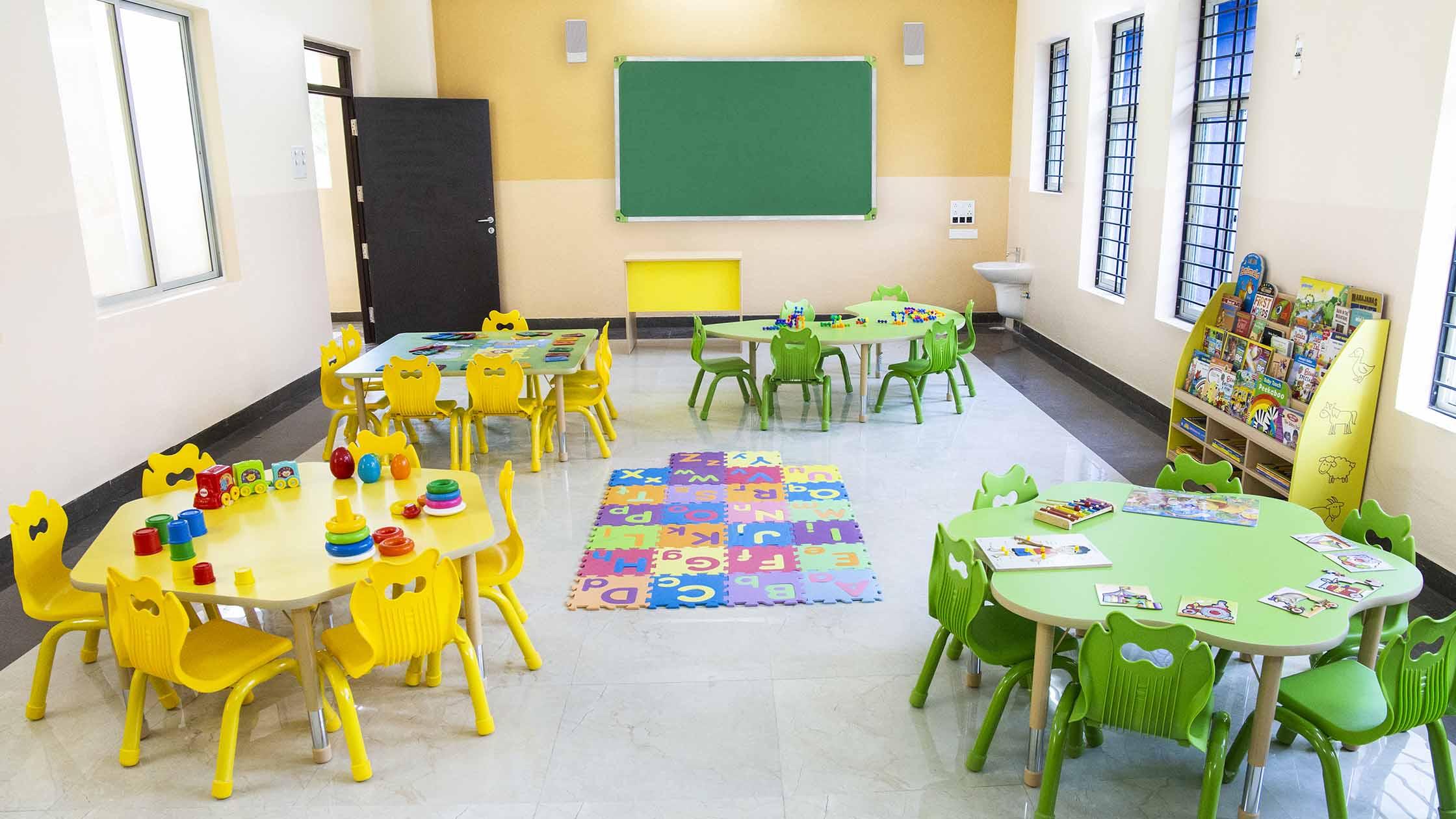 Walkertown Academy - Cbse School in secunderabad - Classroom interior